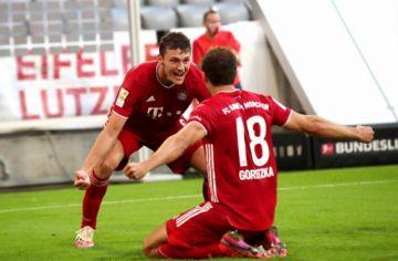 Goretzka deja al Bayern Múnich a una victoria del título en la Bundesliga
