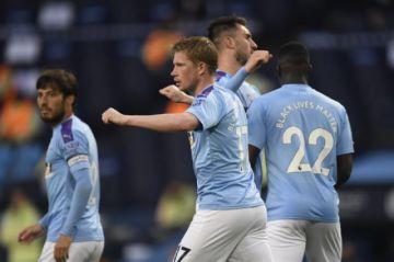 Volvió la Liga inglesa con el triunfo del Manchester City sobre el Arsenal