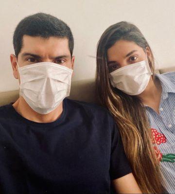 El arquero Carlos Lampe y su esposa están infectados con covid-19