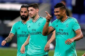 Real Madrid derrota al Espanyol y es el único líder en España