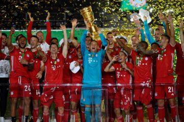 El Bayern Múnich se adjudica la Copa de Alemania y logra el doblete