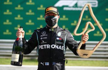 Bottas, primer líder de la Fórmula 1 tras una carrera con final accidentado