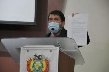 Transparencia denuncia al exgobernador Álex Ferrier por malversar Bs 85 millones