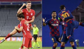 """Barcelona y Bayern sacan boleto para la """"Final 8"""" de la Champions"""