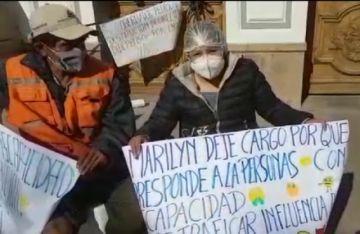 Destituyen a la directora de Didepedis tras protesta de personas con discapacidad