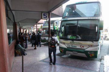 Los viajes terrestres se reanudan este lunes en Chuquisaca