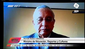 En vivo: El Ministro de Educación habla sobre la clausura de la gestión escolar