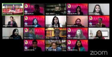 La Universidad promociona a 43 nuevos profesionales en un acto virtual