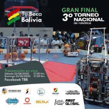 First Global Bolivia: 11 estudiantes se disputan hoy el título del torneo nacional de robótica