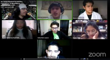Sebastián Lopera destaca en el torneo First Global de robótica