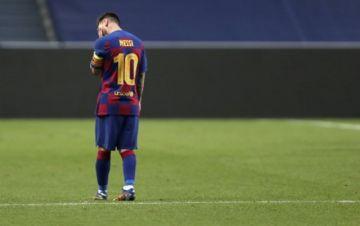 Leo Messi avisa al Barcelona que se va