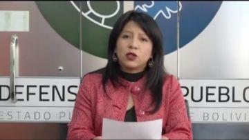Defensoría del Pueblo declara en reserva el caso de Noemí