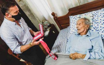 Con casi 107 años, uno de los últimos Héroes del Chaco recibe condecoración