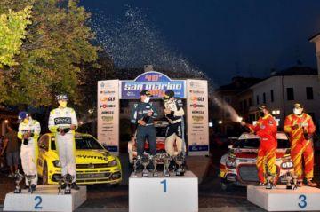 Marco Bulacia gana el Rally San Marino de Italia