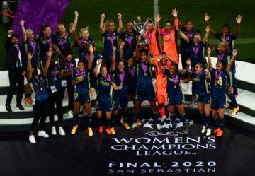 Lyon alza su quinto título consecutivo de la Champions femenina
