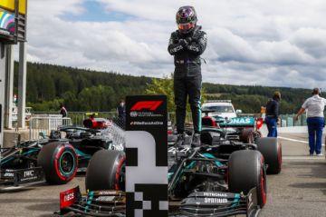 Hamilton gana de punta a punta el GP de Bélgica