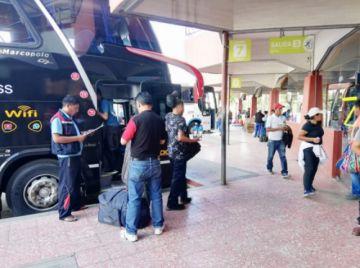 El transporte de pasajeros entre Tarija y Sucre está restablecido