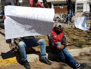Lo que se conoce del grupo de jóvenes que protestó contra los cívicos en la Fiscalía