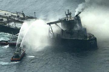 Temor de una nueva marea negra en el Índico por incendio de un petrolero