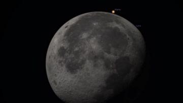 Esta noche: No te pierdas la ocultación de Marte por la Luna