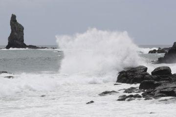 El violento tifón Haishen se dirige a Japón