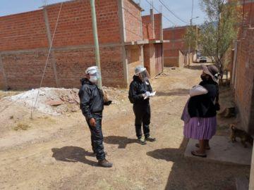 Coronavirus: 7.466 familias visitadas en el último día del megarrastrillaje en Sucre