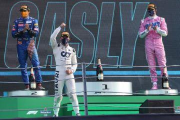 Pierre Gasly gana el GP de Italia, primera victoria francesa en F1 desde 1996