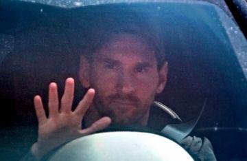Messi regresa a los entrenamientos del Barcelona