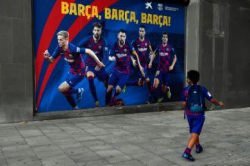 Messi ya entrena con el resto del equipo