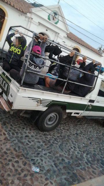 Sucre: Arrestados en La Recoleta interponen una acción de libertad