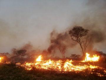 Incendios forestales afectan a al menos seis municipios cruceños