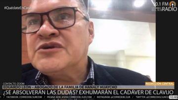 """Familia de Hanalí Huaycho recibe con """"serenidad y preocupación"""" la reactivación del caso"""