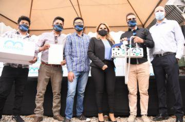 Quantum dona 172 respiradores fabricados en el país y certificados por la Agemed