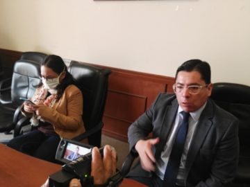 Abogados piden al TCP celeridad en resolución de acción de libertad del fiscal Lanchipa