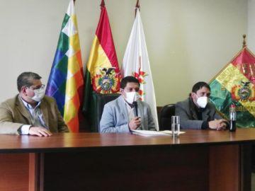 Ministro de Justicia asume como delegado presidencial en Chuquisaca