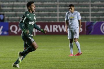 Bolívar se ahoga y cae sin ideas ante el Palmeiras