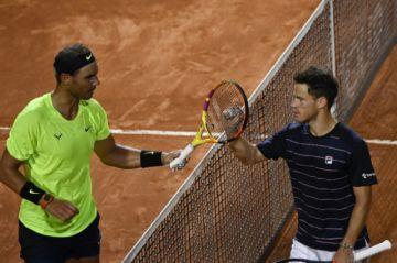 """Nadal se despide de Roma ante Schwartzman, Djokovic y Muguruza a """"semis"""""""