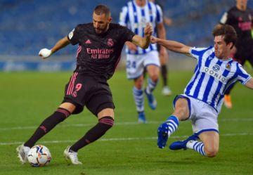 Real Madrid arranca en La Liga con empate sin goles ante Real Sociedad