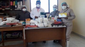 """""""Todos Contra el Covid"""" entrega más medicamentos y equipos de bioseguridad"""