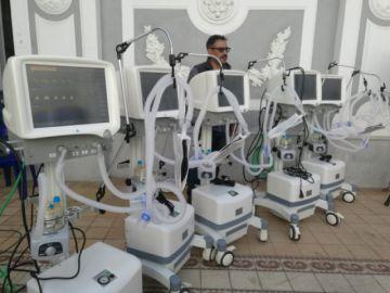 Entregan equipos de terapia intensiva al hospital Santa Bárbara