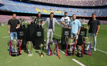 """Luis Suárez se despide del Barça """"orgulloso"""" y entre lágrimas"""