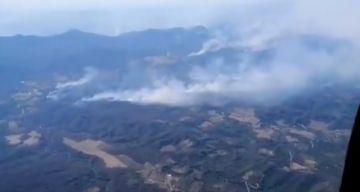 Santa Cruz: reportan 38 incendios forestales activos en 21 municipios
