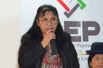 Caso fraude electoral: Exvocal Lucy Cruz dio la orden para frenar el TREP