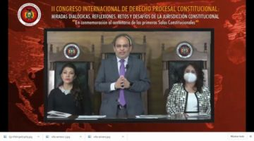 En marcha el II Congreso Internacional de Derecho Procesal Constitucional