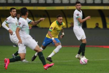 Sin despeinarse, Brasil arrolla 5-0 a Bolivia en el debut hacia Catar-2022