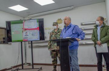 Confiscan armas y aprehenden a cuatro implicados en secuestro de policías en el Chapare