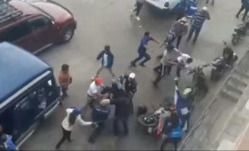 Peleas y aglomeraciones en el último sábado de campaña en Sucre