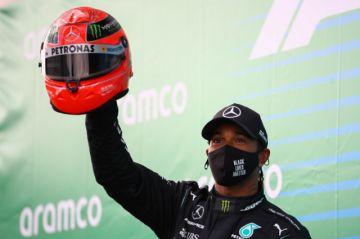 Hamilton alcanza el récord de triunfos de Schumacher en la Fórmula Uno