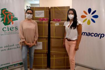 Farmacorp entrega donación de 30 mil pruebas de embarazo