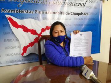 Polémica por declaración de excandidata del MAS sobre proyectos para Sucre